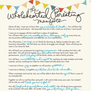 ParentingManifesto-BreneBrown