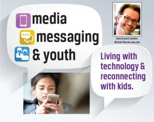 Media, Messaging & Youth:  Living with technology & reconnecting with kids. @ Perkiomen Valley High School | Collegeville | Pennsylvania | United States