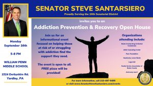 Addiction Prevention & Recovery Open House @ William Penn Middle School